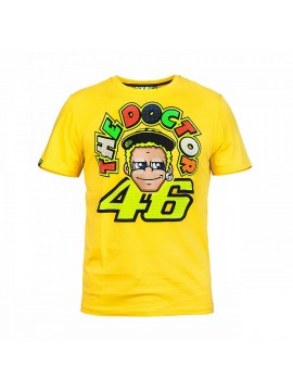 T-SHIRT VR46 THE DOCTOR UOMO