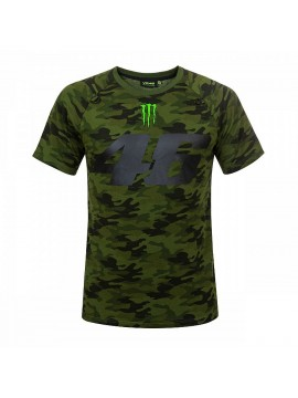 T-SHIRT CAMOUFLAGE 46 MONSTER CAMP