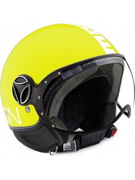 CASCO MOMO DESIGN FGTR CLASSIC LIME/WHITE